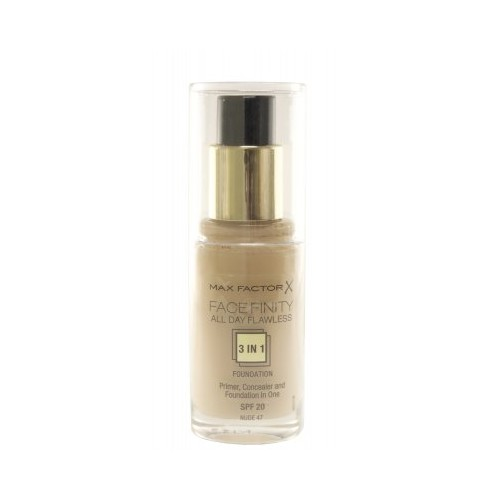 Max Factor All Day Flawless 3-in-1 Foundation 47 Nude