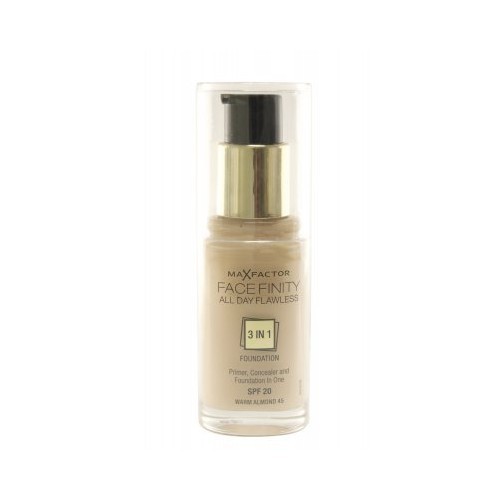Max Factor All Day Flawless 3-in-1 Foundation 45 Warm Almond