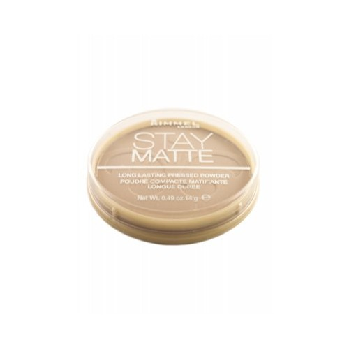 Rimmel Stay Matte Long Lasting Pressed Powder - 005 Silky Beige