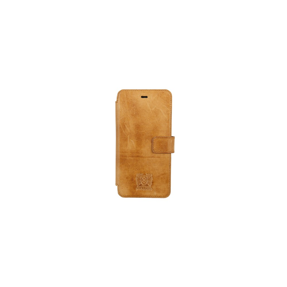 Köp Nic   Mel Nic Mel Slim Stan Bookcase iPhone 6 Plus Cognac på  buyersclub.se 938c09bc053c5