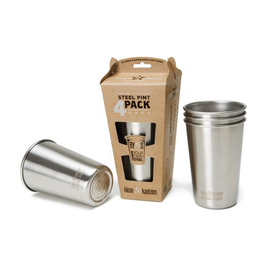 Klean Kanteen 473ml Pint Cup 4-pack