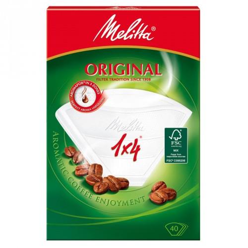Melitta Kaffefilter 1x4 80pack