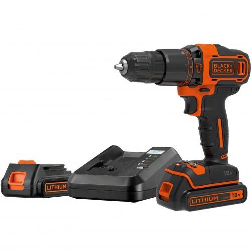 Black & Decker Skruvdragare 18V 2 batterier