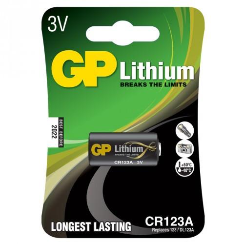 GP Photo Lithium 123A  1-pack