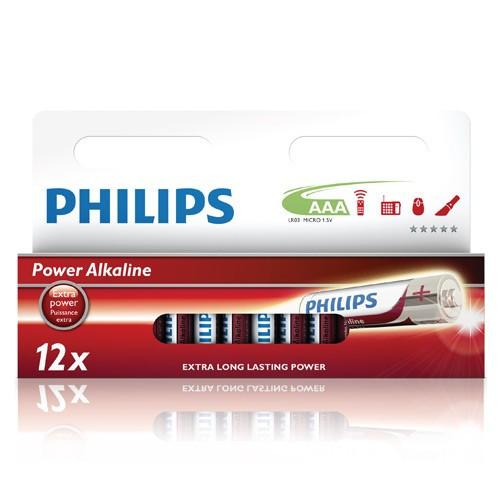 Philips Power Alkaline AAA 12-pack