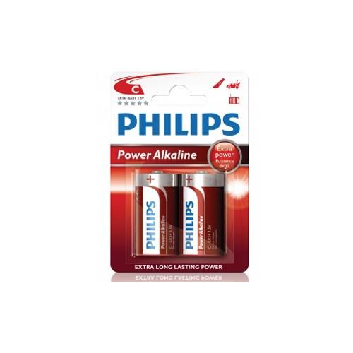 Philips Power Alkaline C LR14  2-pack