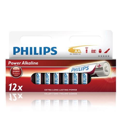 Philips Power Alkaline AA 12-pack