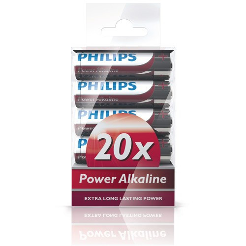Philips Power Alkaline AA 20-pack