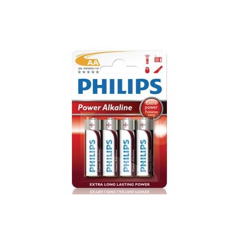 Philips Power Alkaline AA LR06 4-pack