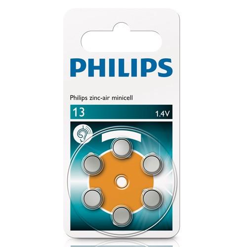 Philips ZA13 PR48 6-p till hörapparat