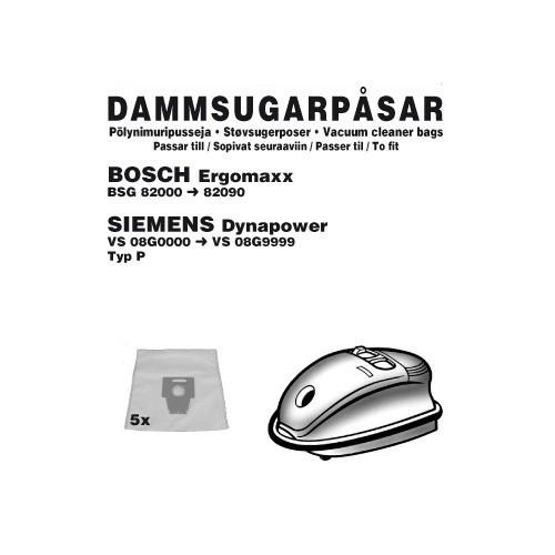 Champion Dammpåsar Bosch Ergomax 5st