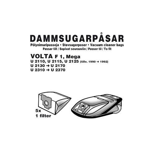 Champion Dammpåsar Volta F1 5st