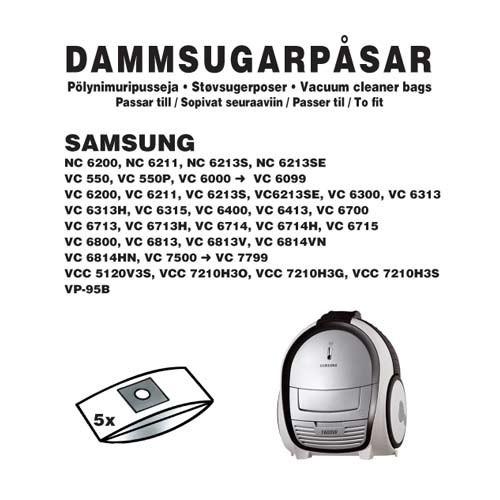 Champion Dammpåsar Samsung 5st