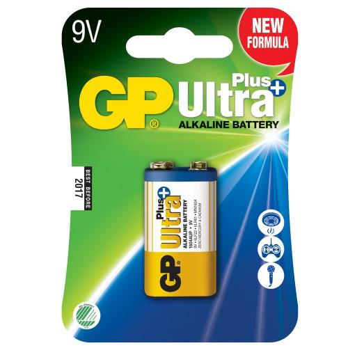 GP Ultra Plus Alkaline 9V 1-pack