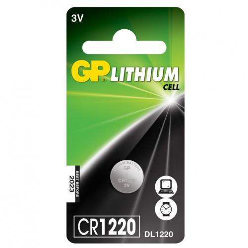 GP CR1220   3V  35mAh Lithium