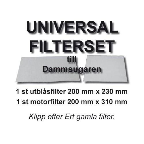 Champion Klippfilterset Universal 2st