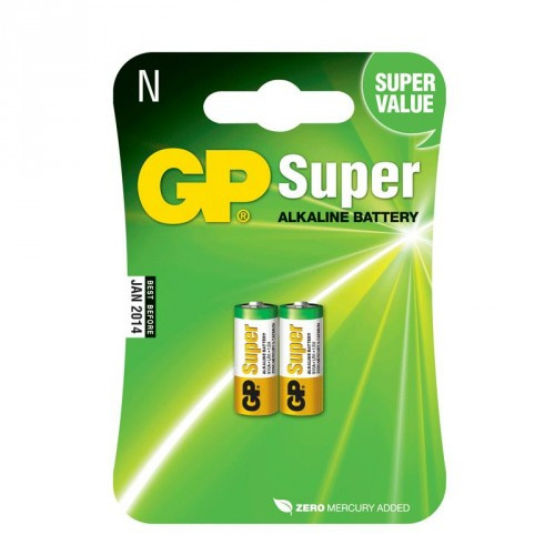 GP Super Alkaline LR1 2-pack