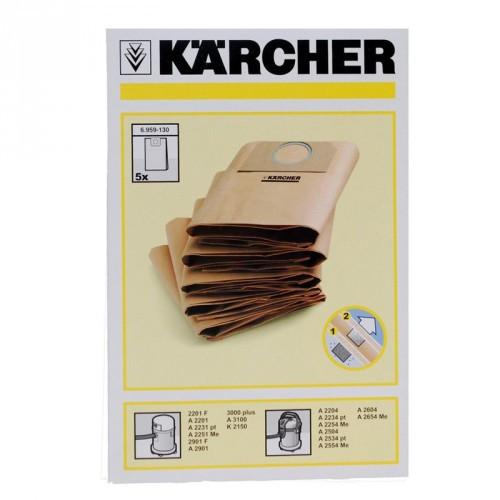 Kärcher Dammpåsar 5 ST Papper