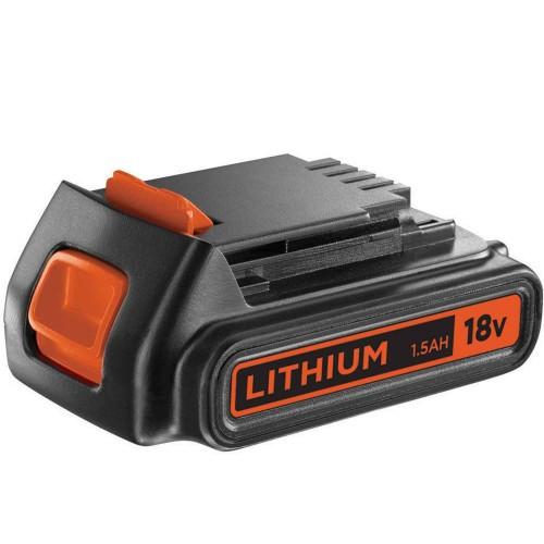 Black & Decker 18V 1.5Ah Lithium Batteri