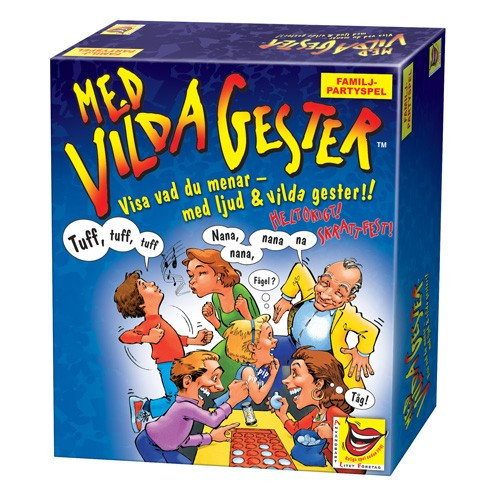 Alf Spel Med vilda gester