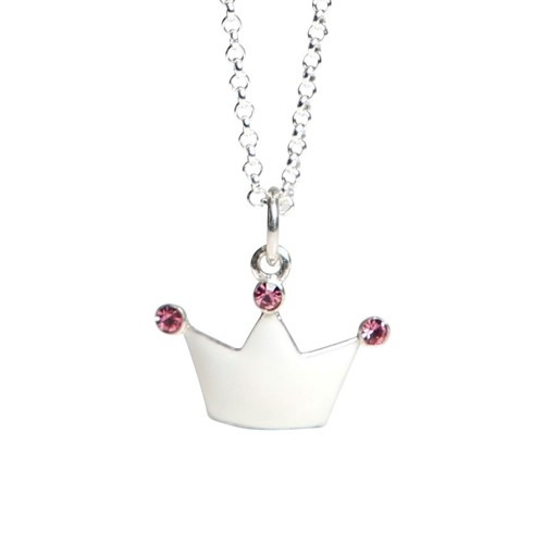 Kalas Halsband Silver Prinsesskrona
