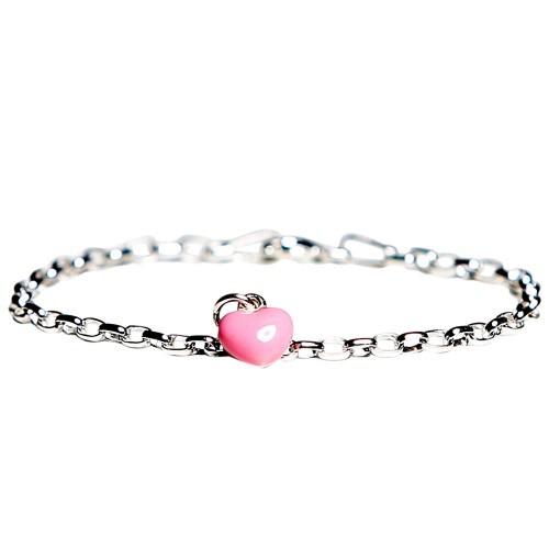 Kalas Armband Rosa Hjärta