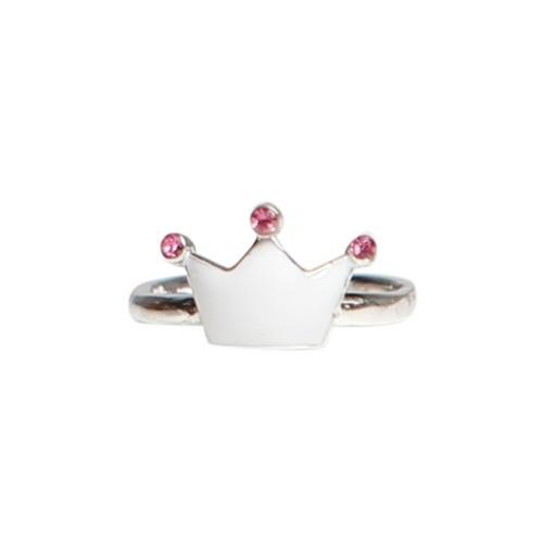 Kalas Ring Silver Prinsesskrona