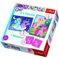 Trefl Pussel + Memo My Little Pony