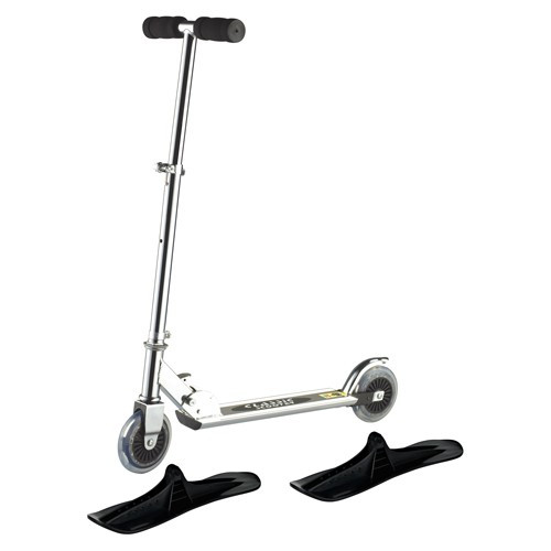 Övrigt Lek Sparkcykel med hjul och skidor