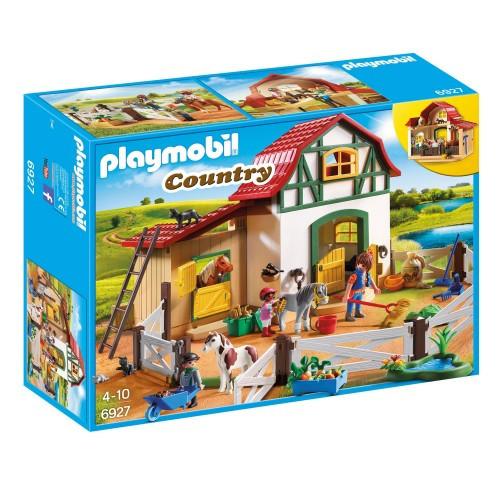 Playmobil Bondgård, Ponnygård