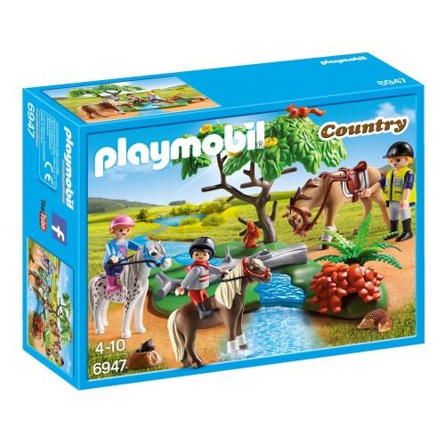 Playmobil Bondgård, Ponnyridlektion