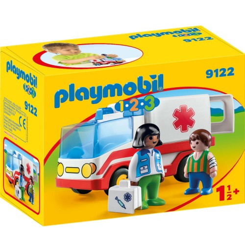 Playmobil 1.2.3, Ambulans