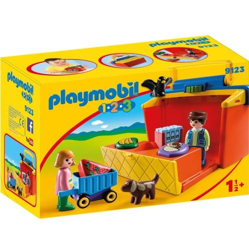 Playmobil 1.2.3, Bärbart Marknadsstånd