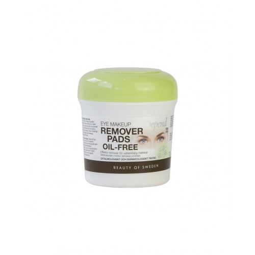 Depend Eye make-up remover pads Oil-free