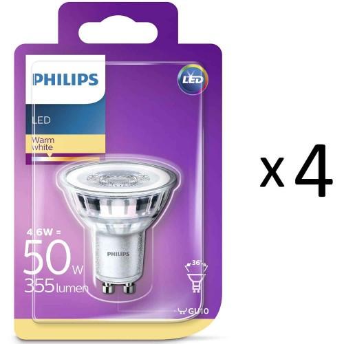 Philips LED GU10 50W 4st