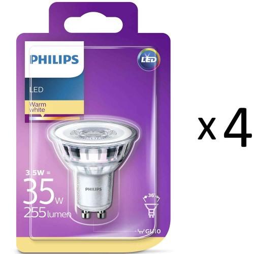 Philips LED GU10 35W 4st