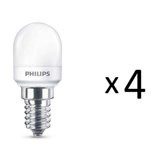 Philips LED Kylskåp E14 1,7W (15W) 4st