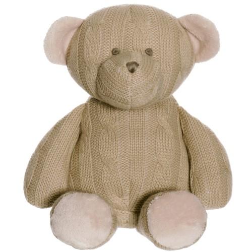 Teddykompaniet Stickad Nalle