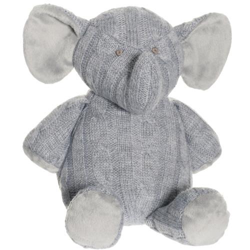 Teddykompaniet Stickad Elefant