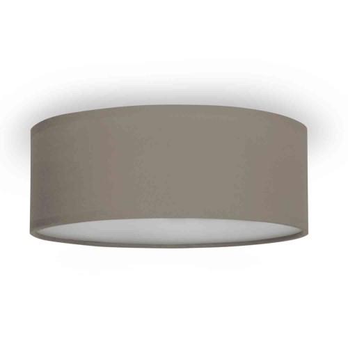 Smartwares Taklampa Textil Ø30cm Gråbrun