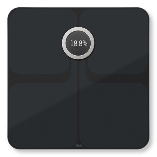 Fitbit Aria 2 Personvåg Wi-Fi Svart