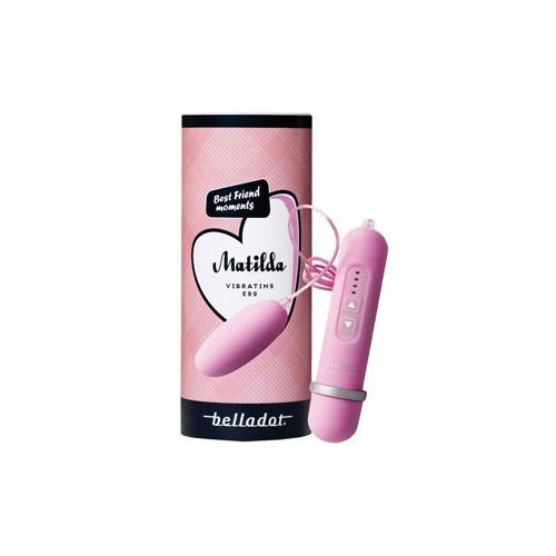 Belladot Matilda Vibrating egg rosa