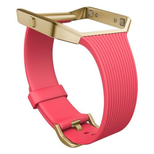 Fitbit Blaze Slim Armband Pink Large