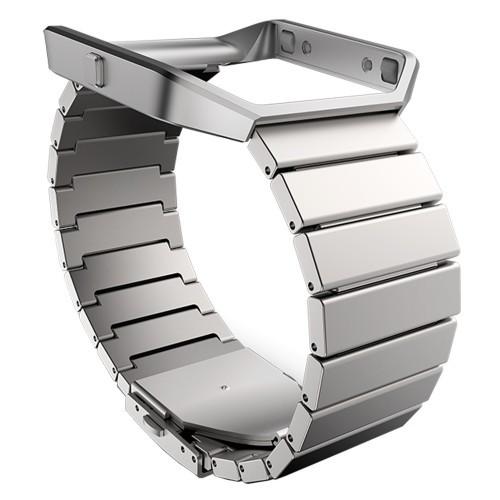 Fitbit Blaze Metallarmband Silver