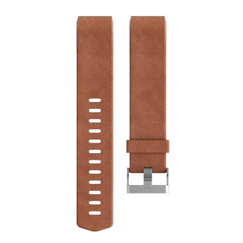 Fitbit Charge 2 Läderarmband Brown L