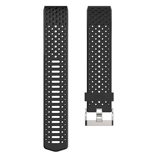 Fitbit Charge 2 Sportarmband Black L
