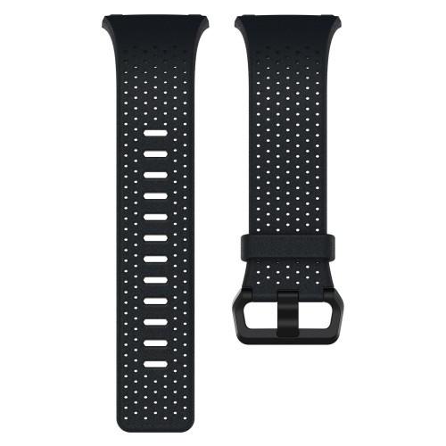 Fitbit Ionic Läderarmband Midn.Blue S