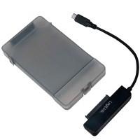 "LogiLink USB-C 3.1 -> SATA 2,5"" m. box"