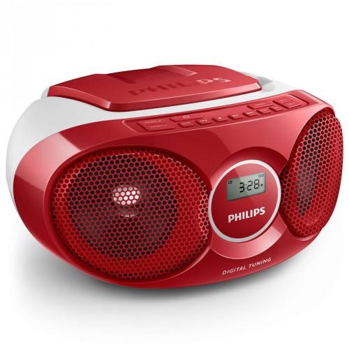 Philips Boombox AZ215 Röd