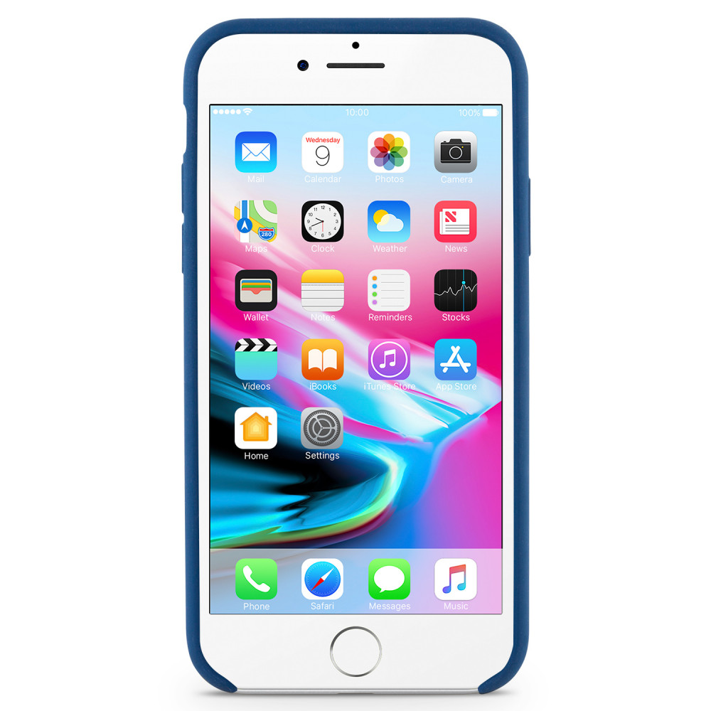 Köp Champion Silicone Case iPhone 7 8 Blå på buyersclub.se 2364e12a55063